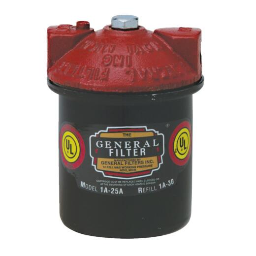 General Filters 12 psi 3/8 In. NPT Fuel Oil Filter