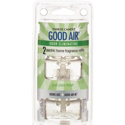 Yankee Candle Good Air Just Plain Fresh Freshener Refill (2-Count)
