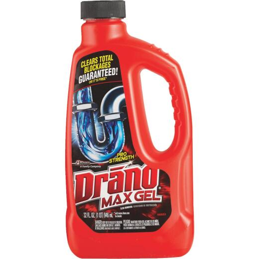 Drano 32 Oz. Pro Strength Max Gel Drain Cleaner