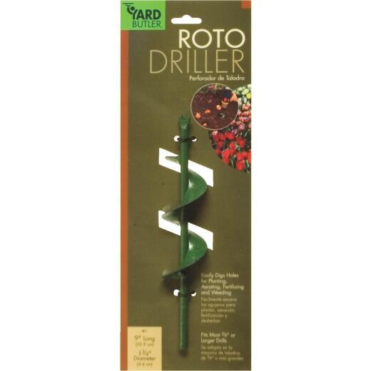 Yard Butler 9 In. Roto Driller Bulb Planter