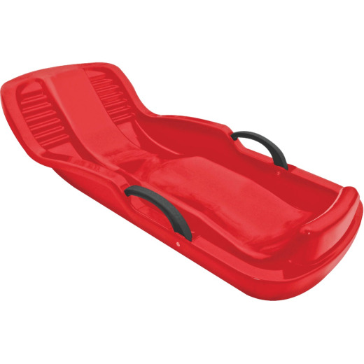 Flexible Flyer Winter Heat 100% Recycled Plastic 38 In. Snow Sled