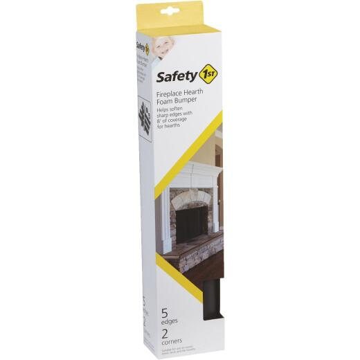 Safety 1st Adhesive Foam Brown Fireplace Guard Foam Bumper